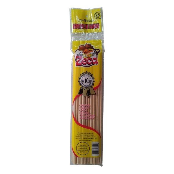 espeto de bambu zeca