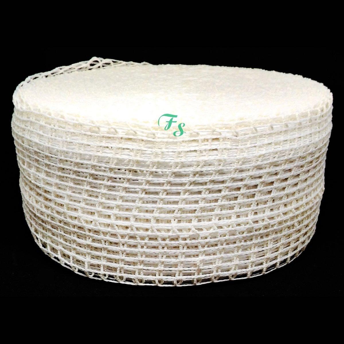 Rede Elastica Copas e Embutidos 36 Fios 10 cm Rolo Fechado